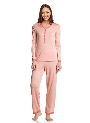 Doremi Kadın Pijama Takımı Oranj